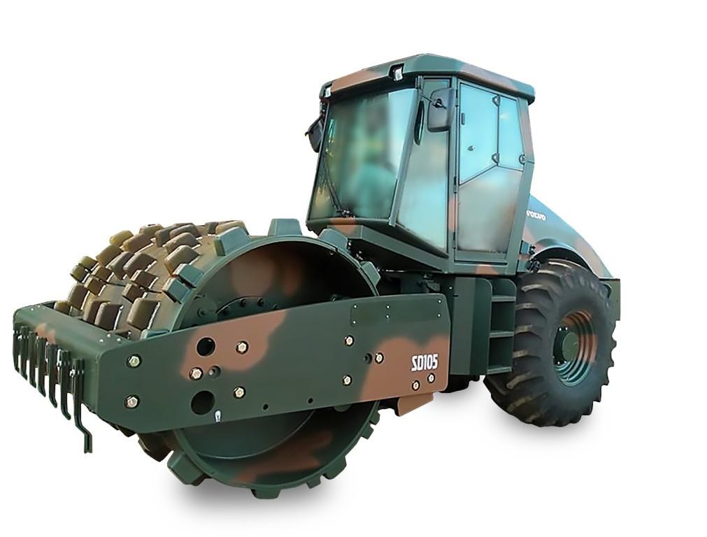 Volvo e Tecnoeste entregam compactador de solo da marca para o Exército brasileiro